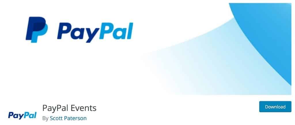 PayPal Events Plugin