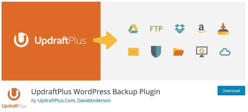 Image of the UpdraftPlus plugin