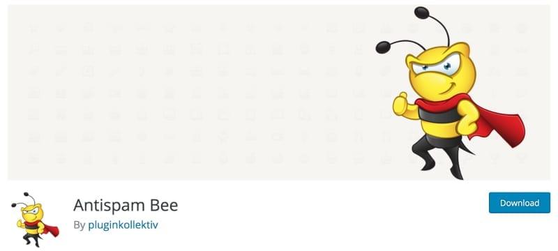 Image of the antispam bee plugin