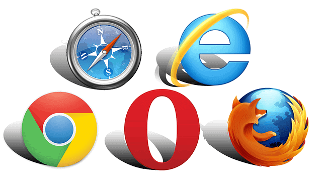 picture of different website browsers