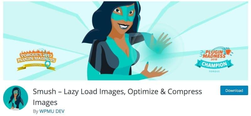 Image of the Smush plugin