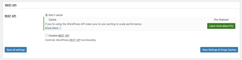 W3 Total Cache Page Caching Setting: Part Four