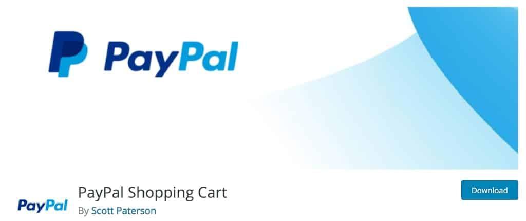 PayPal Shopping Cart Plugin