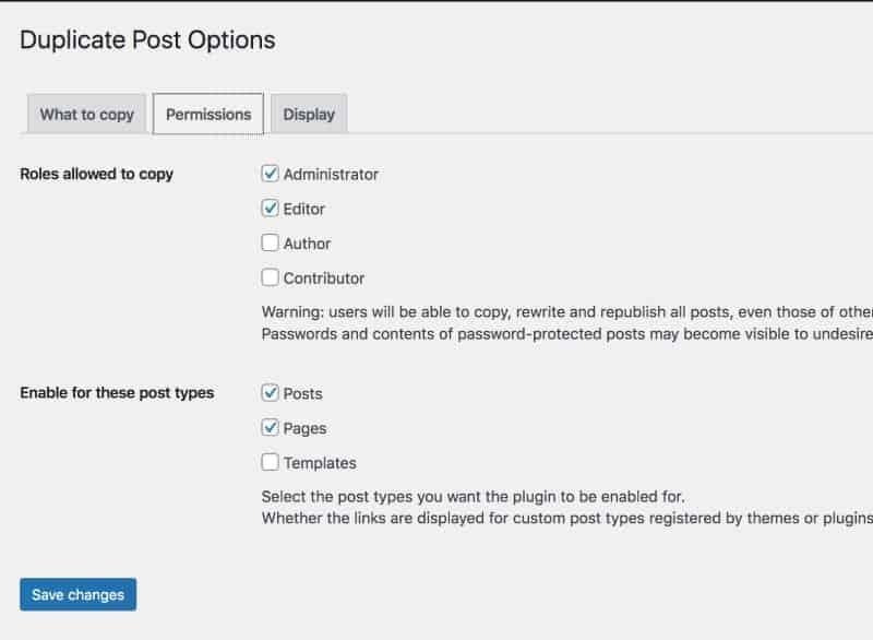 Yoast Duplicate Post Permissions